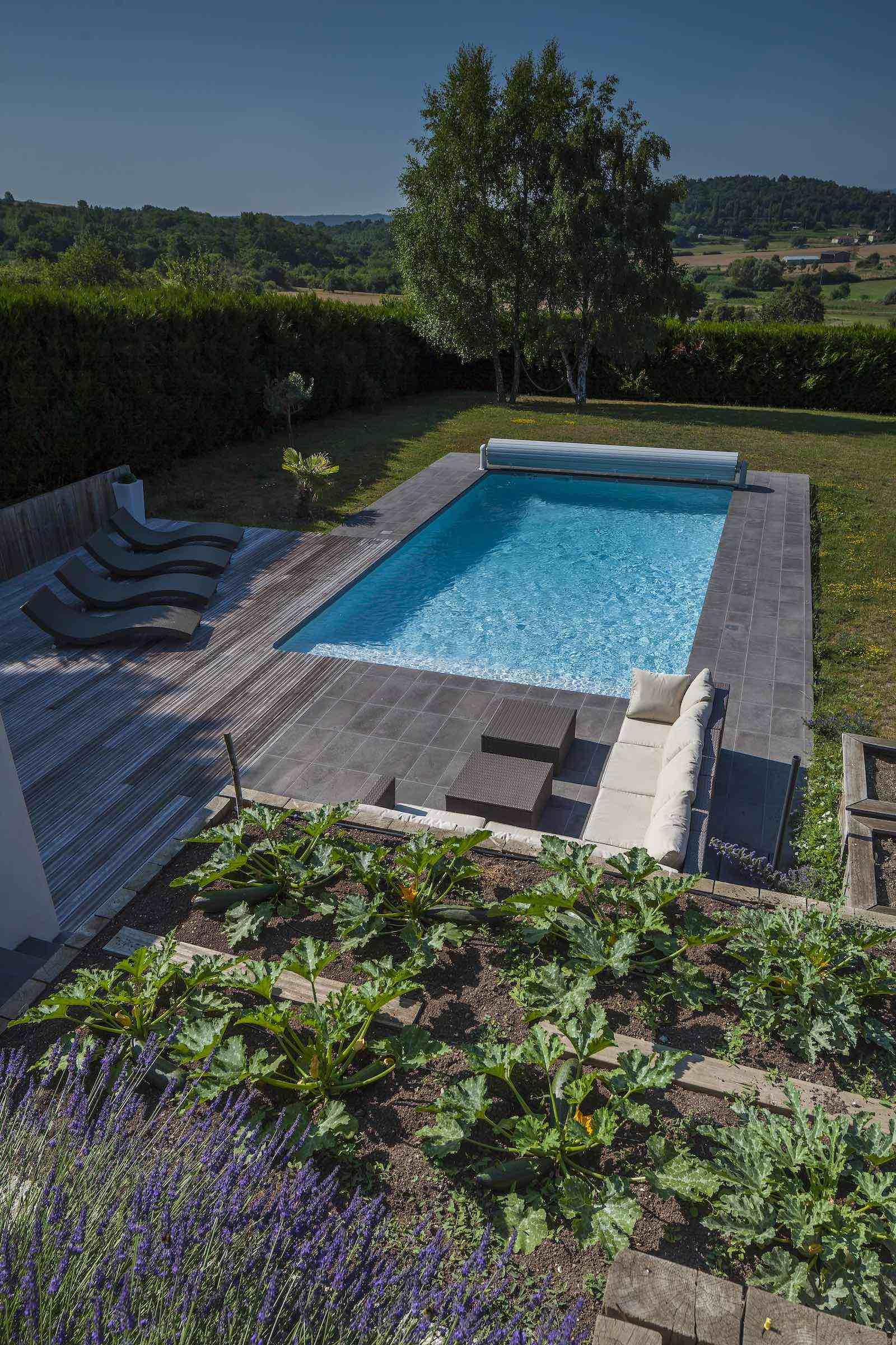 Construction piscine aix en provence magiline bouc bel air - Piscine plein air aix en provence ...